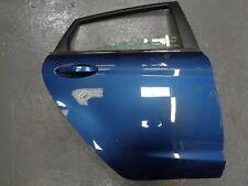FORD FIESTA MK7 DRIVERS SIDE REAR DOOR  BLUE