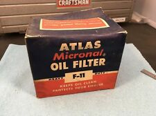 Ford Mercury Lincoln Nash Packard Hudson Studebaker Ford V8 ATLAS F11 OIL FILTER