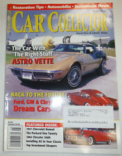 Car Collector Magazine Astro Vette & Ford & GM August 2001 030415R