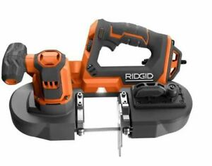 RIDGID Compact Band Saw 18-Volt Portable Variable Speed Keyless Blade Change NEW