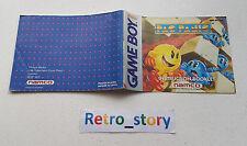 Nintendo Game Boy Pac Panic Notice / Instruction Manual