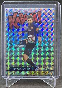 LIONEL MESSI Panini Kaboom Soccer Sticker BARCELONA Mint PSA