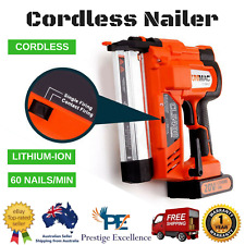 New Unimac Cordless Finish Nailer with Tool Kit 20V Lithium-ion Battery -CLS400
