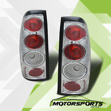 1999-2002 Chevy Silverado/1996-2006 GMC Sierra 1500/2500/3500 Chrome Tail Lights