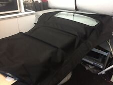 AUDI A3 CONVERTIBLE BLACK MOHAIR HOOD WITH GLASS REAR WINDOW.