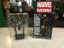 2015 Kotobukiya ARTFX+STATUE 1/10 Pre-Painted Marvel IRON MAN GOLD Figure w/ Box