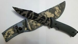 Wonderful and beautiful iron hunting knife COLUMBIA