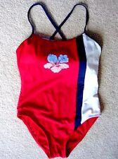 ARIZONA JEAN CO.Dark Red Athletic Swimsuit - Size 16 Girl's
