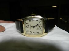 Superb!Serviced 1939 Hamilton 987E Sub Second hand 17 Jwl.10Kt. G.F. Wristwatch