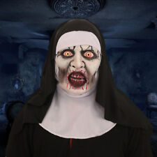 The Conjuring 2 SCARY NUN MASK Latex Fancy Dress Prank Horror Halloween Costume