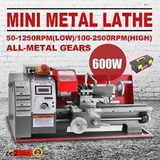 180 Metalldrehmaschine Drehmaschine Tischdrehmaschine Mehrzweck-Maschine 600W