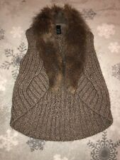Marks and Spencer Knitted Gillet Size S/M