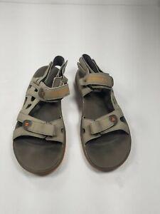 Merrell Mens 10 Sandals Cedrus Convertible Sports GrayFaux Leather J149842C