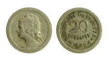 s47_4) Portugal 20 Centavos KM# 571 1920