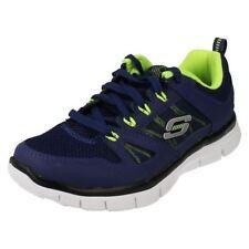 Chaussures bleues en cuir pour garçon de 2 à 16 ans pointure 30