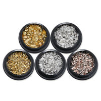 Nail Art Rhinestones 3D Glitters Crystal Beads Marquise Manicure Decoration Tips