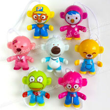 ~ KINDER Joy - PORORO Penguin - Surprise Egg Toy - 7 FIGUREs set - Hong Kong BPZ