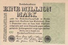 * Ro. 101c - 1 millón de Mark-Deutsches Reich - 1923-Fz: gu *