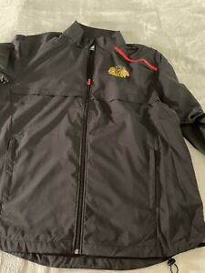 2XL Chicago Blackhawks Fanatics Branded Authentic Pro Rinkside Full-Zip Jacket