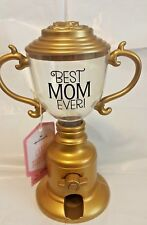 Hallmark Candy Dispenser Best MOM Ever! ~ Gold Plastic Trophy