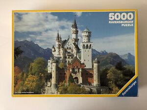 5000 Pieces Jigsaw Puzzle Ravensburger Neuschwanstein Disney Castle Sealed Bag
