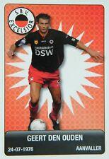 Plus Eredivisie Football tradingcard 2007/08 #47 Geert den Ouden Excelsior