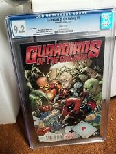 GUARDIANS OF THE GALAXY #1 CGC 9.2 HASTINGS EDITION