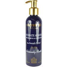 Men's 2in1 Shampoo & Conditioner Avacado Extract Admiral Hydrate Shine Volume