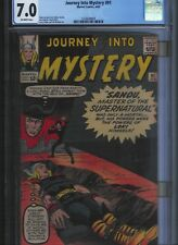 Journey into Mystery # 91 CGC 7.0  Off White Pages. UnRestored.