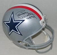 RANDY WHITE SIGNED AUTOGRAPHED DALLAS COWBOYS FULL SIZE 1976 HELMET JSA + HOF 94