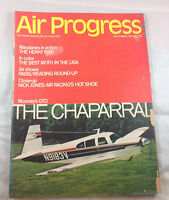 Air Progress Magazine  Vintage Airplane Aviation 1969 The Chaparral Herky Bird