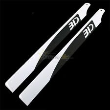 360mm 3D Flybarless Carbon Fiber Main Blades for T-REX 450-480 Helicopter