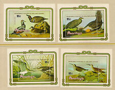 PENRHYN : 1985 Audubon Miniature sheets set (4) SG MS377 unmounted mint
