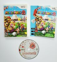 Mario Party 8 Nintendo Wii 2007 Complete in Box CIB Tested