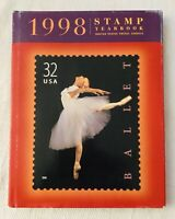 1998 US Commemorative Stamp Hardcover USPS Yearbook BOOK ONLY