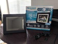 "Pandigital Panimage PI8004W01 8"" LED Digital Picture Frame - Black"