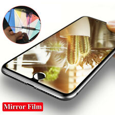 For Apple iPhone Xs Max/Xr/X 7 8 6s Plus 9H Mirror Tempered Glass Film Protector