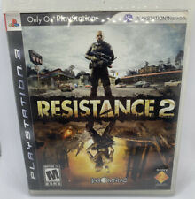 Resistance 2 PlayStation 3 PS3 Complete CIB