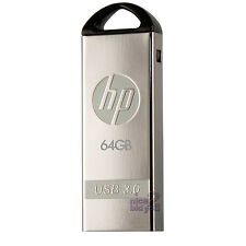 HP x720w 64GB 64G USB 3.0 Flash Drive PC Memory Media Disk Storage Metal Capless
