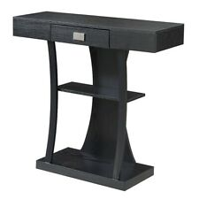 Convenience Concepts Newport Harri Console Table, Black - 111960BL