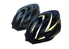 HardnutZ Bike Helmet Road Mountain Bicycle Cycling Hi Vis MTB Matt Black 54-61cm