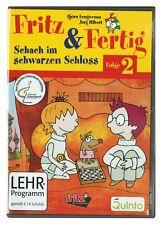 Fritz & Fertig 2 Schach PC Fritz und Fertig Schach im schwarzem Schloss Neuw.