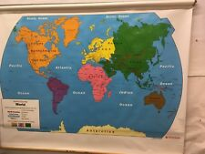 Nystrom Classroom School Map # 1ELS981  World   SM-08