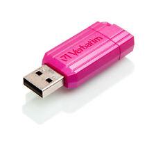 16GB Verbatim PinStripe USB2.0 Flash Drive - Pink