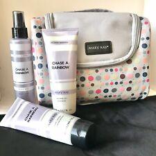 NEW Mary Kay Chase a Rainbow Set: Shower Gel, Body Lotion, Fragrance Mist + Bag