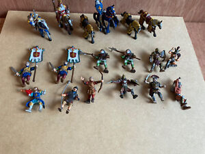 Plastoy Knights And Horses Figures Joblot Bundle