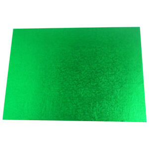 Green Cake Board  14 inches  x 10 inches