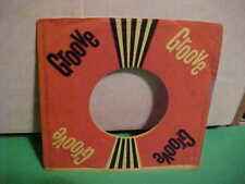 """RARE VINTAGE GROOVE RECORD 7"""" 45 RPM FACTORY COMPANY PAPER SLEEVE ONLY NO RECORD"""