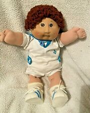 VINTAGE CABBAGE PATCH KID 1984 SAILOR BOY, BROWN HAIR AND BROWN EYES COLECO
