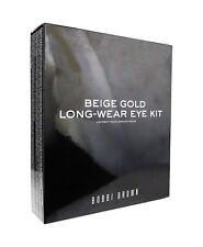 Bobbi Brown Beige Gold Long-Wear Eye Kit 6 Piece Set New In Box